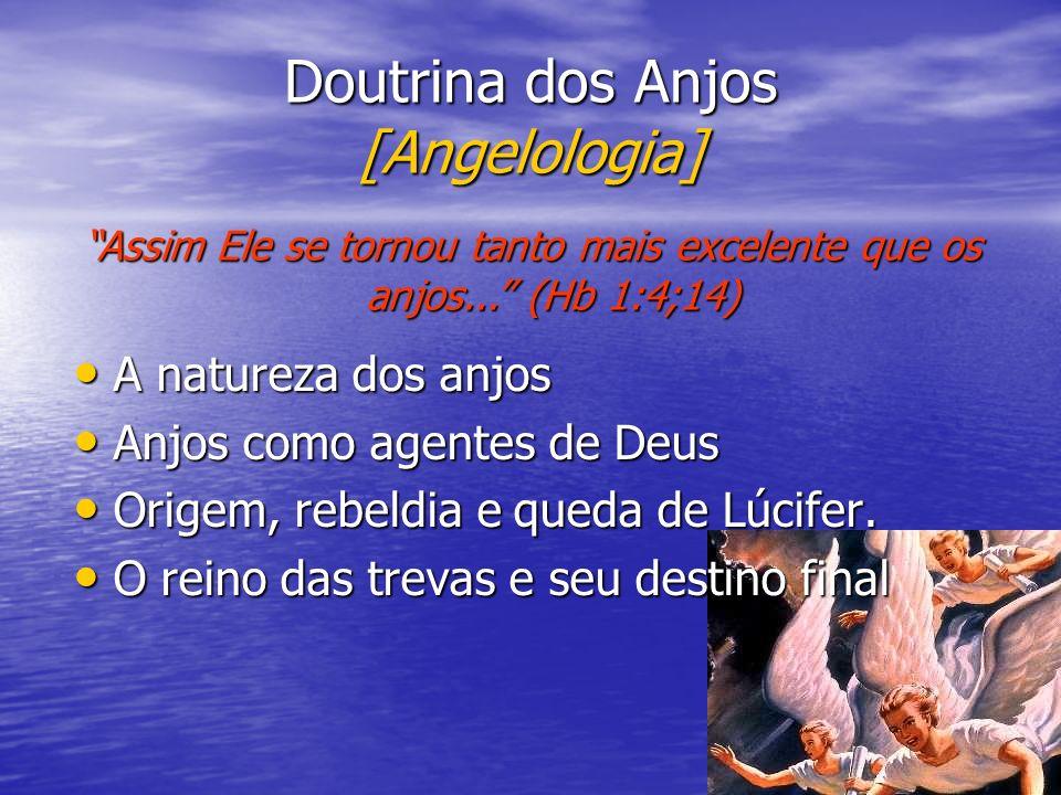 Doutrina dos Anjos [Angelologia]